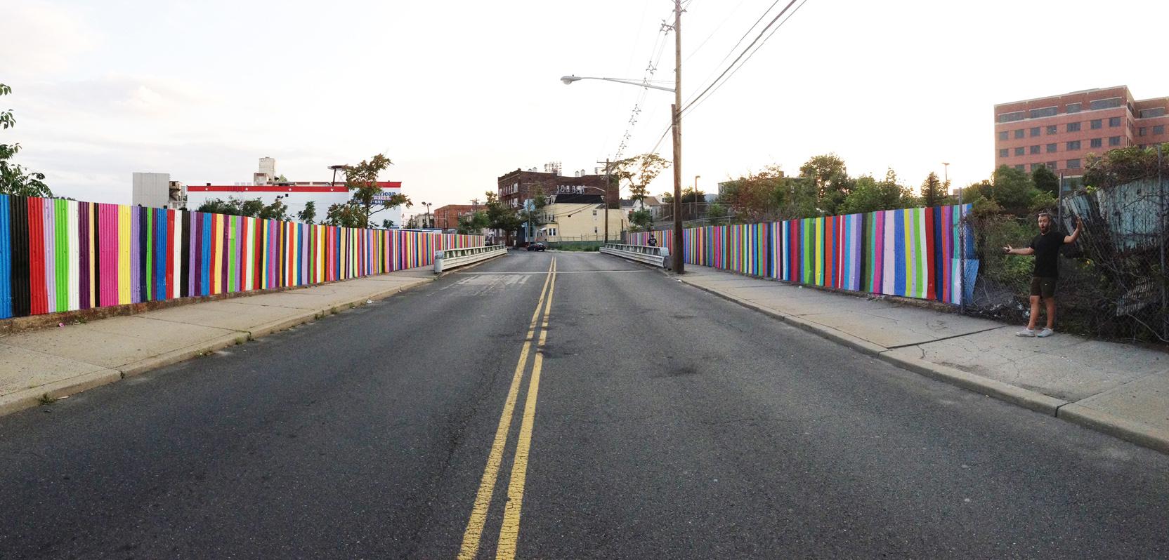 Jersey City double rainbo