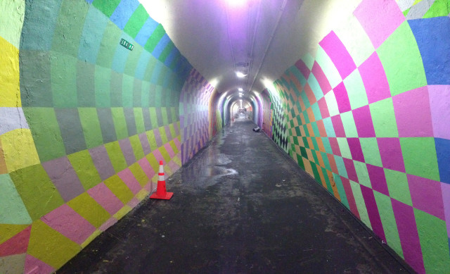 191st Street NYC updated tunnel vision