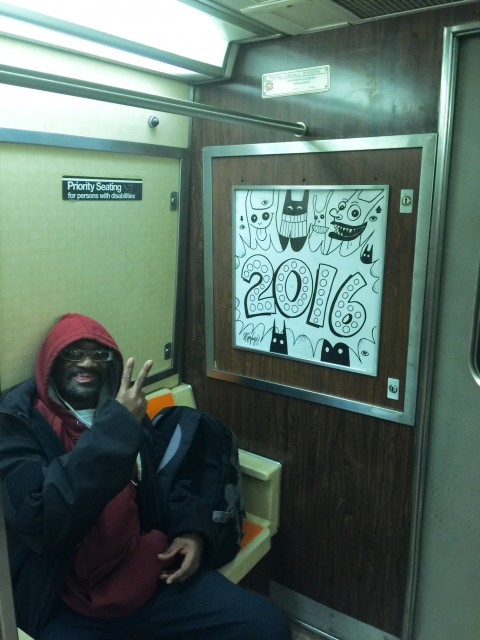 New Years 2016 A train