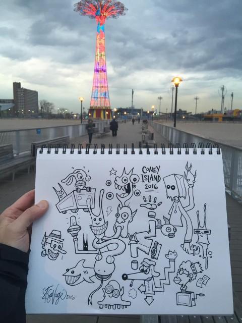Coney Island Pier 2016